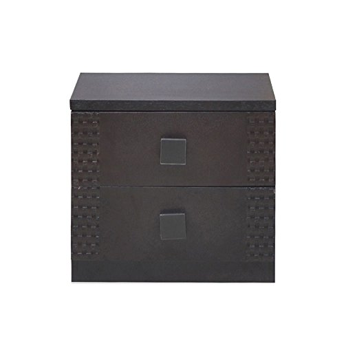 @home By Nilkamal Beetle Night Stand (Brown)