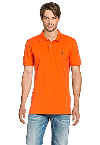 Polo Ralph Lauren Herren Poloshirt Active Orange, Größe:XL, Farbe:Orange