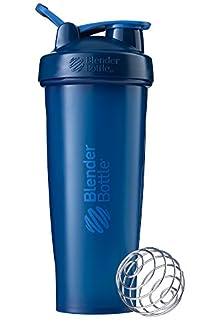 BlenderBottle C01638 Plastic Classic Loop Top Shaker Bottle, 945 ml (Navy)