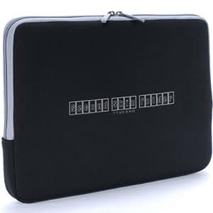 Tucano Box Second Skin Neopren-Hülle für Notebooks 39,1 cm (15,4 Zoll), schwarz