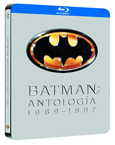 Pack Batman 1989-97 Black Metal Edition Blu-Ray [Blu-ray]