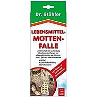 Dr. Stähler Mottenfalle, Lebensmittel, 4 Klebestreifen, 1 Stück, 002202