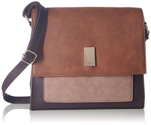 a632e4d2d02f Buy Caprese Shirine Women's Sling Bag (Brown, Pink and Tan) on Amazon |  PaisaWapas.com