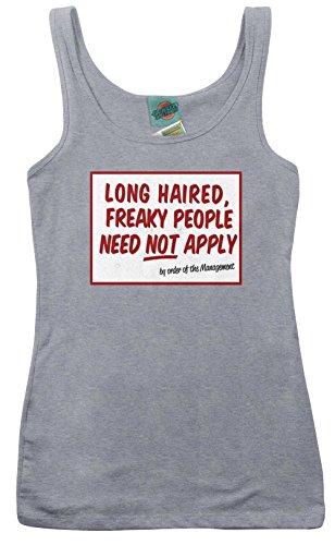 Five Man Electrical Band/Tesla Inspired Signs, Women's Vest, Large, Heather Grey (Tesla-band-shirt)