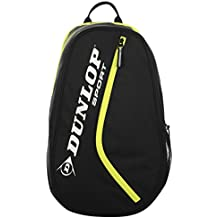 Dunlop Club mochila, black - yellow