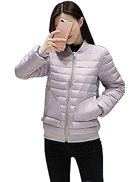 KOROWA Donne in inverno sottile cotone imbottito cappotto corto