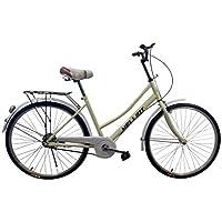Helliot Bikes Paseo01 Vélo de Ville Mixte Adulte, Vanille, Standard
