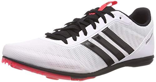 adidas Damen Distancestar W Leichtathletikschuhe, Mehrfarbig (Ftwbla/Negbás/Rojsho 000), 42 2/3 EU