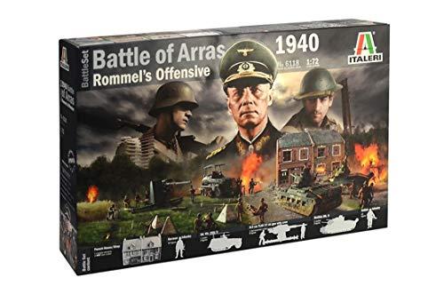 Italeri 6118 - WWII Battleset: 1940 Battle Of Arras ' Rommel's Offensive' Model Kit  Scala 1:72