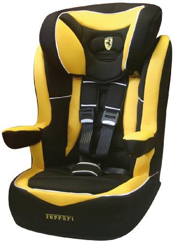 Ferrari 102-123-31 - Silla de coche grupo 3, 2, 1, color negro