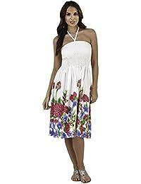 30a2a23e6b14 Lora Dora Ladies Floral Casual Summer Dress
