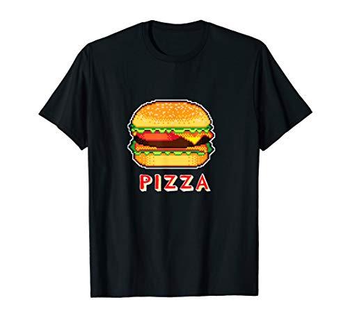bit Pixel 80er Arcade Gamer Geek Outfit T-Shirt ()