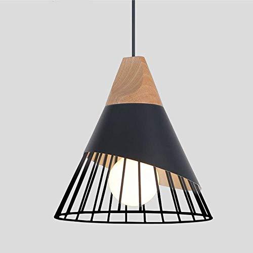 Pendelleuchte Semi-Flush Mount Deckenleuchte, Industrial Vintage Style Lampenschirm, für Flur Arbeitszimmer Büro Schlafzimmer Dekoration -