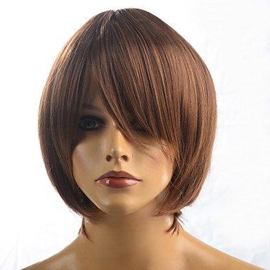 HJL-2015 femmes mode naturel ondul¨¦ Janpanese chaleur, perruque cheveux synth¨¦tiques r¨¦sistant ¨¤ la M16173-#8230 12\\