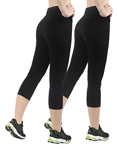 4How 2er Capri Leggings Sportswear - 2