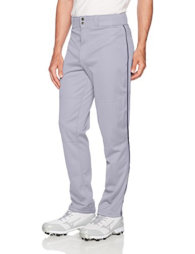 Wilson Herren 's Classic Relaxed Fit Paspel Baseball Hose, Herren Damen, Grey/Navy, Small