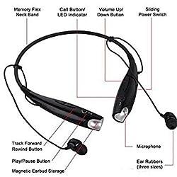 SCORIA HBS-730 Bluetooth Stereo Headset HBS 730 Wireless Bluetooth Mobile Phone Headphone Earpod Sport Earphone with call functions