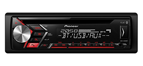 Pioneer DEH-S3000BT | 1DIN Autoradio | CD-Tuner mit RDS | Bluetooth | MP3 | USB und AUX-Eingang | Bluetooth Freisprecheinrichtung | ARC App | Karaoke Mic Mixing | Spotify (Auto Radio Cd Mp3)