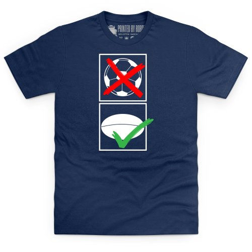 Different Balls T-Shirt, Herren Dunkelblau