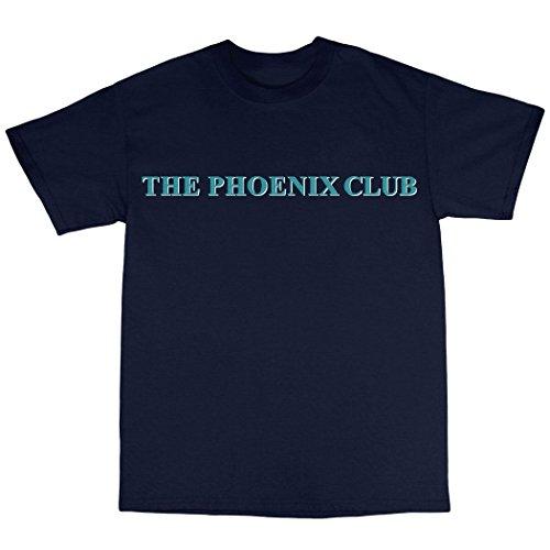 The Phoenix Nights Club Inspired T-Shirt 100% Baumwolle Marineblau