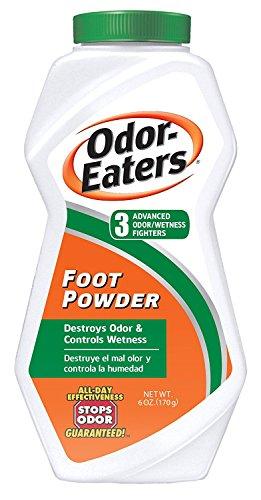 Odor Eaters - Poudre contre les Mauvaises Odeur des Pieds - Protège de l'Humidité - 6 oz