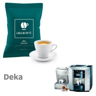 400 capsule caffè LOLLO miscela DECAFFEINATO compatibili POINT