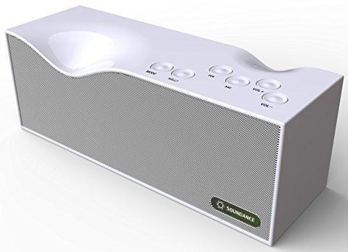 Altoparlanti Soundance Bluetooth con radio FM, microfono integrato, display a
