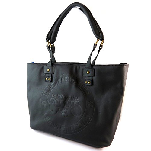 Bag designer 'Le Temps Des Cerises'nero - 45x25x14 cm.