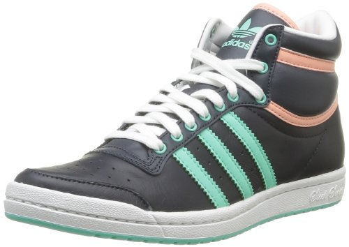 adidas  Top Ten Hi Sleek W,  Damen Turnschuhe , - blu - Größe: 36 (Hi Top Canvas)