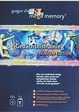 Expert Marketplace -  Gregor Staub  - Mega Memory Gedächtnistraining Premium Edition - Textband plus 12 CDs