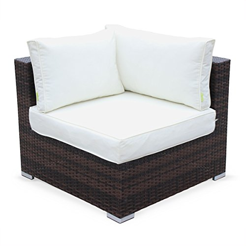 Alice 39 s garden muebles de jardin conjunto sofa de for Sofas de ratan para jardin