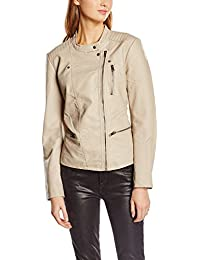 ONLY Damen Jacke Onlfreya Faux Leather Biker Otw Noos