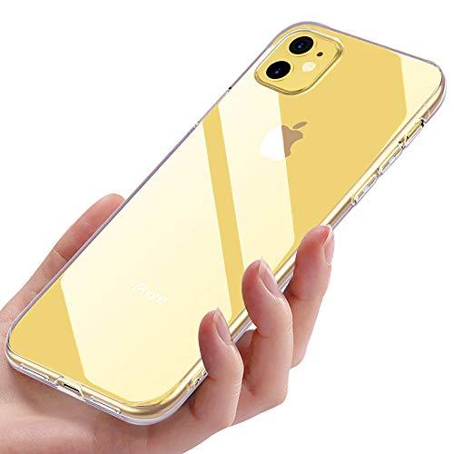 Kostenlose Gucci-tasche (Migimi iPhone 11 Handyhülle, Hülle iPhone 11 Case Silikon iPhone 11 Schutzhülle Anti-Scratch Ultra Dünn TPU Bumper Cover Schutz Tasche Schale Hülle für iPhone 11 (6,1 Zoll) - Transparent)