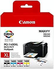 Canon PGI-1400XL BK/C/M/Y Multipack for Maxify MB2340 MB2040 MB2140 MB2710