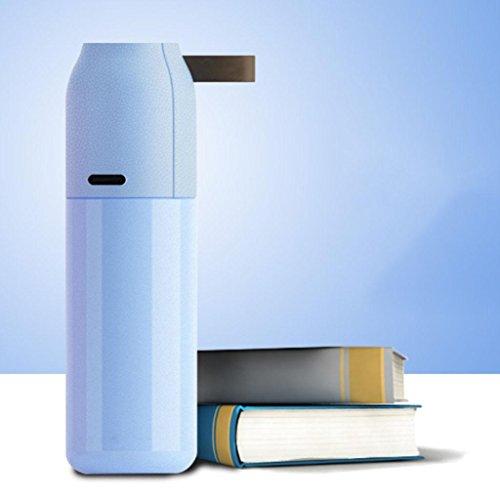 350ml Sub-Warhead Isolierung Tasse Mode Doppel 304 Edelstahl-Business-Auto Vakuum hochwertigen Tasse , blue , 350ml