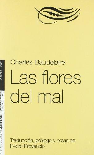 FLORES DEL MAL, LAS. (Nueva biblioteca EDAF) por CHARLES BAUDELAIRE