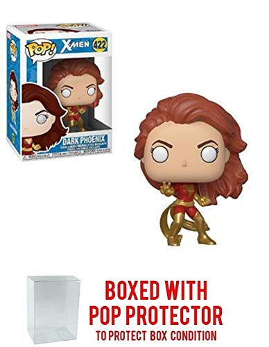 FunkoPOP X-Men: Dark Phoenix - Vinyl Figure 422 + Bundled w/ Pop Box Protector Case
