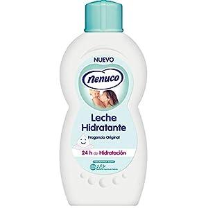 Nenuco Leche Hidratante para bebé fragancia original, 400 ml