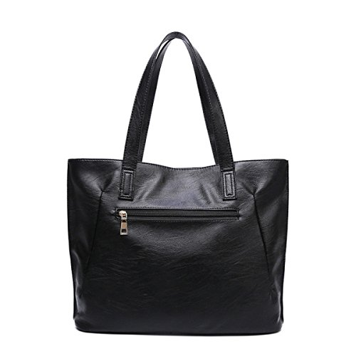 Ladies Autunno E Inverno Nuovo Borsa Selvaggia Messenger Bag Black