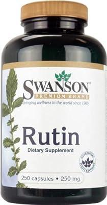 Swanson Rutin (250mg, 250 Capsules)