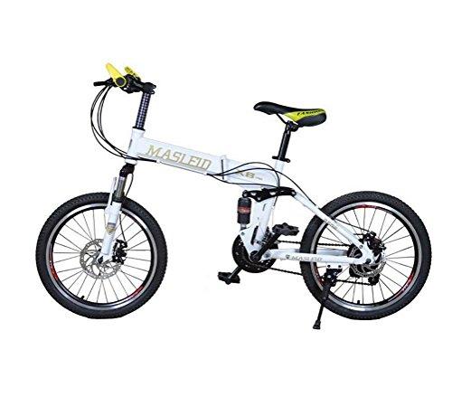 MASLEID vélo vélos pliants blanc