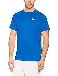 Under Armour Speed Stride Short Sleeve Camiseta Deporte, Hombre, Azul (Blue Marker), XL