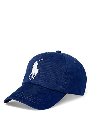 Ralph Lauren Polo Casquette Sport Big Pony Chino - Bleu Marine