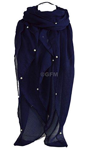 GFM Fastglas Perle Décoration en tissu extra Écharpe pour Soirée Mariage mariée, demoiselles d'honneur Violet - zSeconds - Purple (PL-JMN-11)