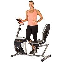 Preisvergleich für FITNESS REALITY R4000 Recumbent Bike / Liege-Heimtrainer mit Magnetbremse und programmierbaren Trainings-Zielen
