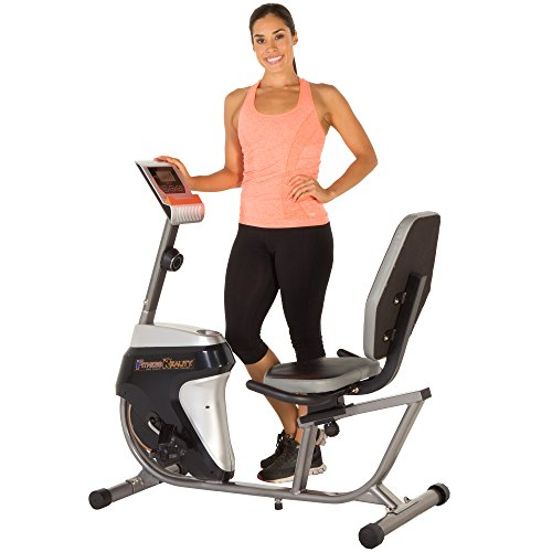 Fitness Reality R4000 Recumbent Exercise Bike with Workout Goal Setting Computer by Fitness Reality preisvergleich
