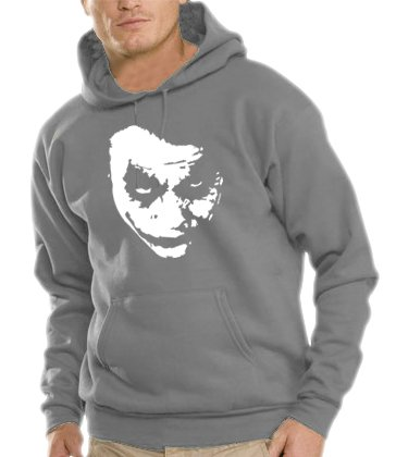 touchlines-herren-heath-ledger-joker-kapuzen-sweatshirt-b7138-steelgrey-l
