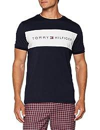 36cda73c84906 Amazon.fr   Tommy Hilfiger - Hauts de pyjama   Vêtements de nuit ...