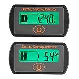 DyNamic 12 V / 24 V Batterieanzeige Meter Digital LCD Blei Säure Spannungspegel Zeigen Voltmeter-24 V