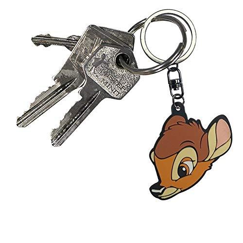 Bambi Disney PVC Gummi Schlüsselanhänger - Feline (Katze Im Hut-deluxe Kostüm)